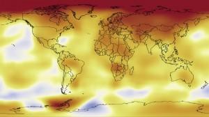 riscaldamento globale in atto