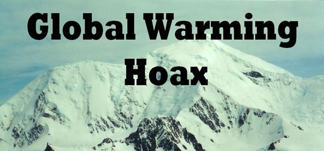 copertina libro Global Warming Fraud