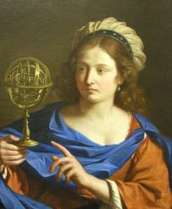 Guercino - Personificazione dell'astrologia