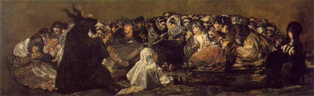 Francisco Goya. Il sabba delle streghe (1821-1823)