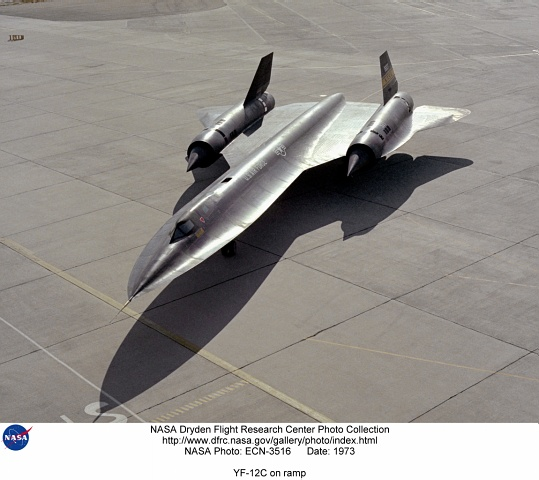 YF-12C at Dryden Reseach Center