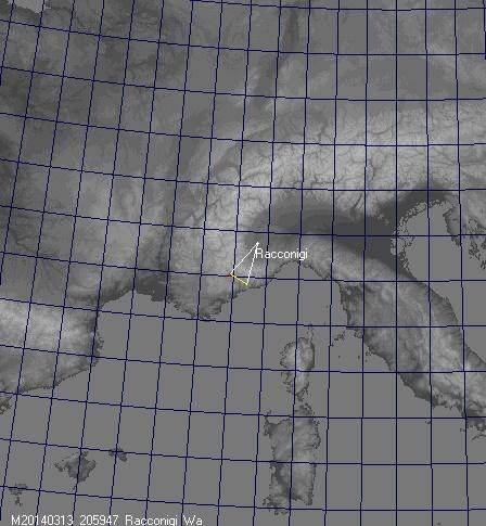 traiettoria Racconigi