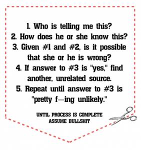 5 punti per discernere se una notizia rischia di essere una panzana!