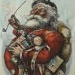 Babbo Natale veste Coca-Cola