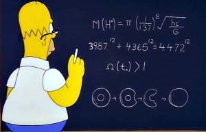 Homer Simpson e il bosone di Higgs