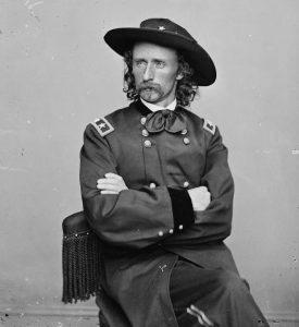 il tenente colonnello George Armstrong Custer