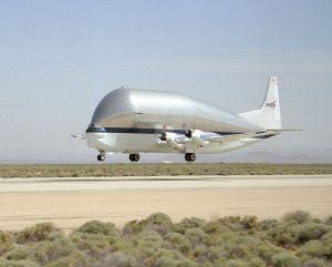 Il Super Guppy utilizzato dalla NASA (Credit: Pubblico Dominio)