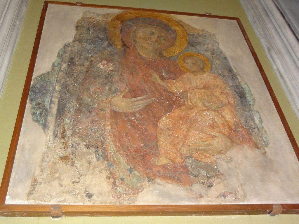 Anonimo, XII sec.?, Madonna del Sasso, Chiesa di Sant'Agostino, Lucca. Foto degli autori