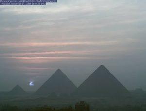 Il fenomeno del Sole Blu è raro, ma non impossibile (credit: PyramidCam)
