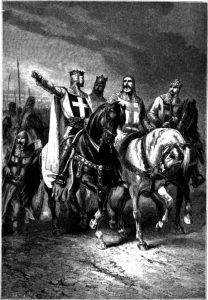 I comandanti della Prima crociata, in un'illustrazione ottocentesca di Alphonse-Marie-Adolphe de Neuville (credit: Pubblico Dominio)