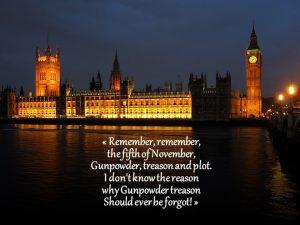 La filastrocca della congiura delle Polveri e l'House of Parliament britannico (credit: photo by Andrew Dunn, 29/09/2004, CC BY 2.0)