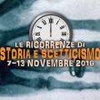 Storia e Scetticismo: gli anniversari dal 7 al 13 novembre