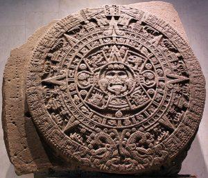 La Piedra del Sol, conservata al Museo Nazionale di Storia e Antropologia di Mexico City (credit: Anagoria/Wikipedia, CC BY 3.0)