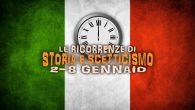 Storia e Scetticismo: gli anniversari dal 2 al 8 gennaio