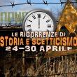 Storia e Scetticismo: gli Anniversari dal 24 al 30 aprile