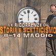 Storia e Scetticismo: gli Anniversari dall'8 al 14 maggio