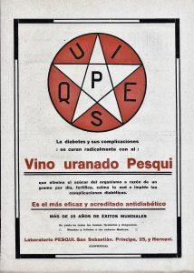Etichetta spagnola del vino Pesqui